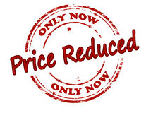 Only now price reduced Stock Image