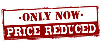 Only now price reduced Royalty Free Stock Photos