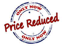 Only now price reduced Royalty Free Stock Images