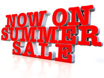 Now on Summer sale Stock Photo