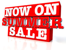 Now on Summer sale Stock Images