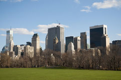 Now York City, Central Park Royalty Free Stock Photography