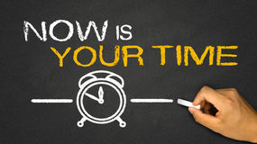 now is your time stock illustration