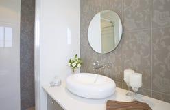 Nowa łazienka fotografia stock