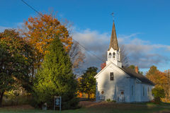 Nowa Anglia kościół Obraz Stock