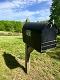 Nowa Anglia skrzynka pocztowa Obrazy Stock