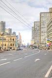 Nowa Arbat aleja moscow Zdjęcia Royalty Free