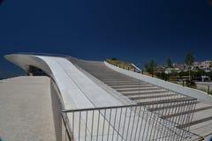 Nowa architektura w Lisbon, Portugalia MAAT Fotografia Stock
