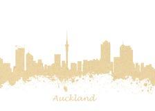 nowa Auckland linia horyzontu Zealand Obrazy Stock