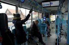 NOWA AUTOBUSOWA miasto linia 5C Zdjęcie Stock