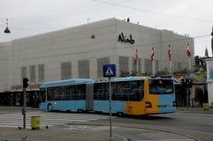 NOWA AUTOBUSOWA miasto linia 5C Obrazy Royalty Free