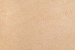 Nowa beżowa dywanowa tekstura Zdjęcie Royalty Free
