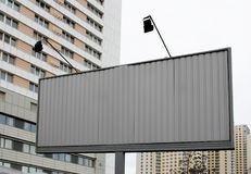 nowa billboard ulica Obrazy Royalty Free