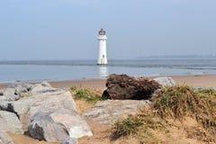 Nowa Brighton latarnia morska zdjęcie stock