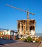 Nowa budowa w Nowym Westminister Obrazy Royalty Free