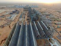 Nowa budowy elektrownia Obrazy Royalty Free