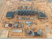 Nowa budowy elektrownia Fotografia Stock
