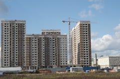 nowa budynek mieszkaniowy budowa Obraz Stock