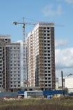 nowa budynek mieszkaniowy budowa Obrazy Royalty Free