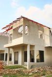 Nowa Domowa budowa Zdjęcie Royalty Free