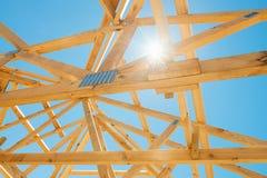 Nowa domowa budowy otoczka. Fotografia Stock