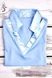 Nowa fałdowa koszula dla dziewczyn Obrazy Royalty Free