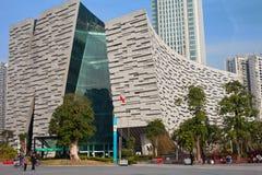 nowa Guangzhou biblioteka Obraz Stock