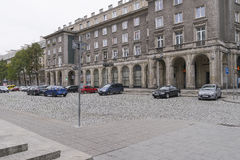 Nowa Huta i Krakow royaltyfri fotografi