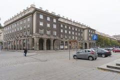 Nowa Huta i Krakow royaltyfri foto