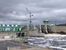 Nowa Hydroelektryczna stacja zdjęcia stock