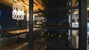 Nowa i czysta luksusowa restauracja w europejczyka stylu zdjęcie wideo