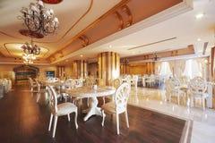 Nowa i czysta luksusowa restauracja w europejczyka stylu Amara Dolce Vita luksusowy hotel kurort Tekirova-Kemer Fotografia Stock