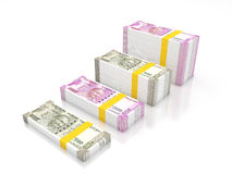 Nowa indyjska waluta ilustracji