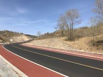 Nowa Intermountain autostrada obraz royalty free