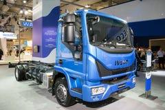 Nowa IVECO Eurocargo ciężarówka Fotografia Stock