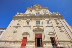 Nowa katedra Coimbra zdjęcia royalty free