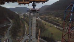 Nowa kolejowa bridżowa budowa - Stuttgart 21, Aichelberg zdjęcie wideo
