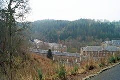 Nowa Lanark- wioska Zdjęcie Stock