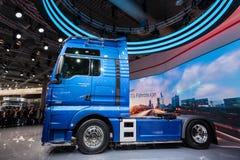 Nowa mężczyzna TGE semitrailer ciężarówka Zdjęcie Stock
