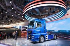 Nowa mężczyzna TGE semitrailer ciężarówka Obraz Stock