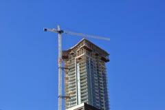 nowa miasto budowa Obrazy Royalty Free