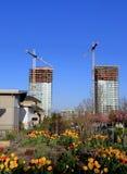 nowa miasto budowa Obraz Stock