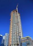 nowa miasto budowa Zdjęcie Stock