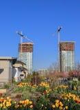 nowa miasto budowa Obrazy Stock