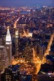 nowa miasto noc York Zdjęcie Stock