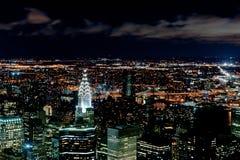 nowa miasto noc York Fotografia Royalty Free