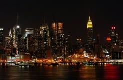 nowa miasto noc York Fotografia Stock