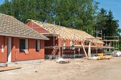 Nowa mieszkaniowa domu domu budowa Zdjęcie Royalty Free