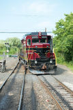 NOWA nadzieja, PA - SIERPIEŃ 11: Nowa nadziei i Ivyland sztachetowa droga jest dziedzictwo pociągu linią dla gości iść na turysty Fotografia Royalty Free
