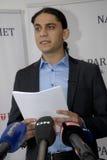 NOWA NATIONAPARTY konferencja prasowa Zdjęcie Stock